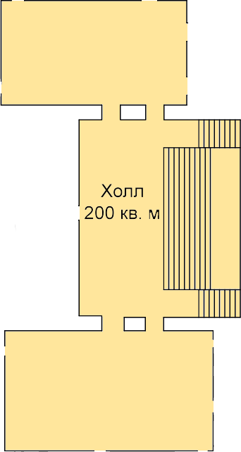 Холл нулевого этажа
